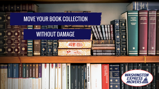 Move Your Book Collection Without Damage